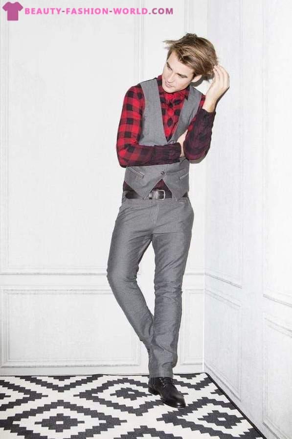 various colors 49e54 fd930 O colecție de confecții bărbați elegant toamna iarna 2015 ...